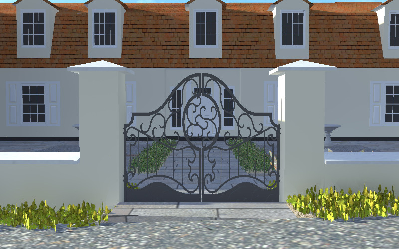 3d garden design using cad: sussex, surrey, kent, london and the uk