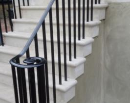 Decorative bespoke railings