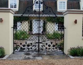 Bespoke garden gates